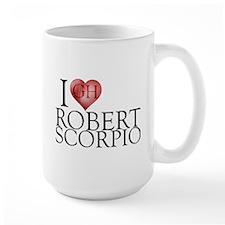 I Heart Robert Scorpio Large Mug