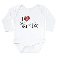 I Heart Sonny & Brenda Long Sleeve Infant Bodysuit