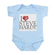 I Heart Steve Hardy Infant Bodysuit