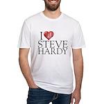 I Heart Steve Hardy Fitted T-Shirt