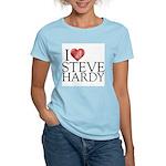 I Heart Steve Hardy Women's Light T-Shirt