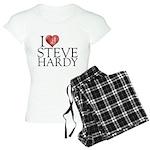 I Heart Steve Hardy Women's Light Pajamas
