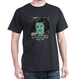 Witch Diane Feinstein Black T-Shirt