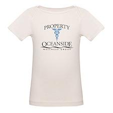 Property of Oceanside Wellness Organic Baby T-Shir