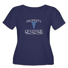 Property of Oceanside Wellness Women's Plus Size S