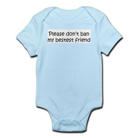 Please don't ban... (kids) Infant Creeper