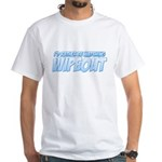 I'd Rather Be Watching Wipeout White T-Shirt