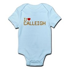 I Heart Calleigh Infant Bodysuit
