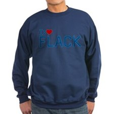 I Heart Flack Dark Sweatshirt