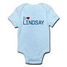 I Heart Lindsay Infant Bodysuit