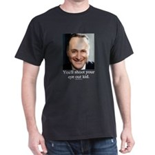 Chuck Schumer Shoot your eye out Black T-Shirt
