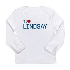 I Heart Lindsay Long Sleeve Infant T-Shirt