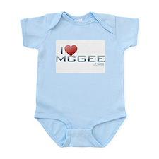 I Heart McGee Infant Bodysuit