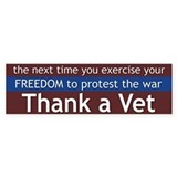 Thank a Vet (Sticker)