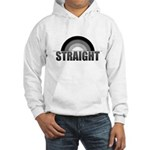 Straight Rainbow Hooded Sweatshirt