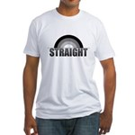 Straight Rainbow Fitted T-Shirt