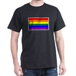 Rainbow Pride Flag Dark T-Shirt