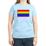 Rainbow Pride Flag Women's Light T-Shirt