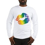 Big Rainbow Lips Long Sleeve T-Shirt