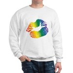 Big Rainbow Lips Sweatshirt