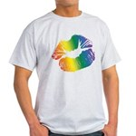 Big Rainbow Lips Light T-Shirt