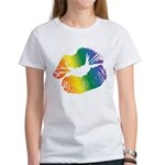 Big Rainbow Lips Women's T-Shirt