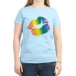 Big Rainbow Lips Women's Light T-Shirt