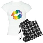 Big Rainbow Lips Women's Light Pajamas