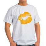 Big Orange Lips Light T-Shirt