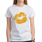 Big Orange Lips Women's T-Shirt