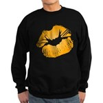 Big Orange Lips Dark Sweatshirt (dark)