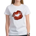 Red Lips Kiss Women's T-Shirt