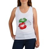 Italian Kissing Lips Women's Tank Top