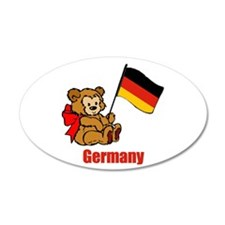 Germany Teddy Bear Wall Decal