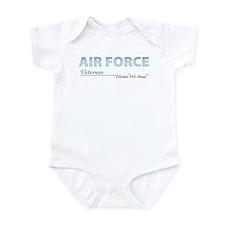 Air Force Veteran Infant Creeper