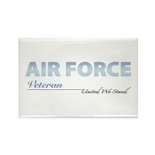 Air Force Veteran Rectangle Magnet (10 pack)