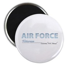 "Air Force Veteran 2.25"" Magnet (100 pack)"