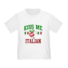 Kiss Me I'm Italian T