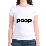 Poop Jr. Ringer T-Shirt