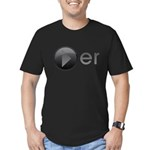 Player Men's Fitted T-Shirt (dark)