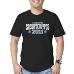 I Survived Snowpocalypse 2011 Men's Fitted T-Shirt (dark)