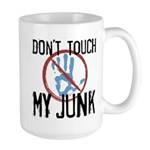 Don't Touch My Junk Large Mug