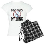 Don't Touch My Junk Women's Light Pajamas