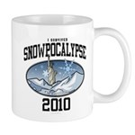 I Survived Snowpocalypse 2010 - New York City Mug