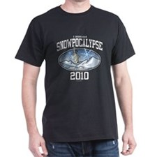 I Survived Snowpocalypse 2010 - New York City T-Shirt