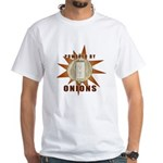 Powered by Onions White T-Shirt