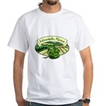 Salmonella Farms - Cilantro White T-Shirt