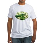 Salmonella Farms - Cilantro Fitted T-Shirt