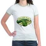 Salmonella Farms - Cilantro Jr. Ringer T-Shirt