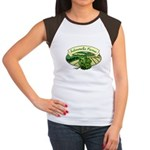 Salmonella Farms - Cilantro Women's Cap Sleeve T-Shirt